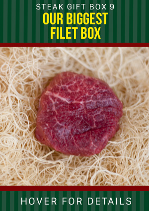 Steak box graphic